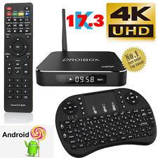 2017 X9 Amlogic Quad Core Android 5.1 TV Box 4K Smart Media Player+Mini Keyboard