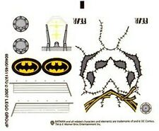 LEGO 7786 - Batman - The Batcopter: The Chase for Scarecrow - STICKER SHEET
