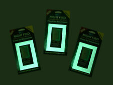 GREEN GLOW light switch covers-Classic style- pack of 4