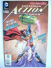 ACTION COMICS # 9 (RAGS MORALES VARIANT COVER, THE NEW 52!  - JUL 2012), NM