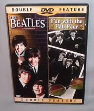 DVD THE BEATLES Unathorized/Fun with the Fab Four NEAR MINT