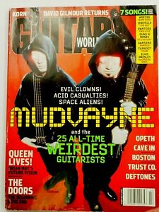Guitar World Magazine Mudvayne Cover February 2003
