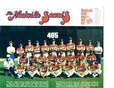 1981 NASHVILLE SOUNDS 8X10 TEAM PHOTO BASEBALL MATTINGLY MCGEE NIXON SHOWALTER