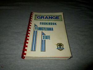 PENNSYLVANIA STATE GRANGE COOKBOOK-1972 EDITION-RED SPIRAL