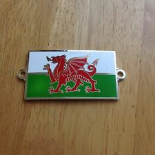 Wales Badge Welsh Flag Car & Motorcycle Y Ddraig Goch Spitfire Mini Land Rover