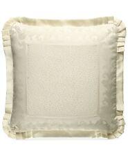 J Queen New Euro Pillow Sham York Marquis Ivory B99202