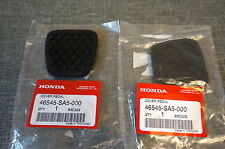 2x OEM Honda Brake & Clutch Pedal Pad Cover for Accord Civic CR-X CR-V Prelude