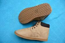 New FINCH Wheat/Tan Colour SH-UGG BOOTS. MENS Size 10. Microsuede  Lace-Up Boot