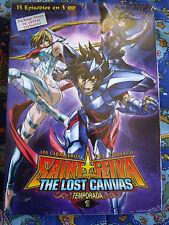 DVD - Anime - Saint Seiya The Lost Canvas -  Temporada 1 - Nueva - Extras