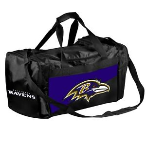 Baltimore Ravens Duffle Bag Gym Swimming Carry On Travel Luggage Tote - 2 Tone