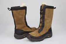 Ugg Mixon Tall Chestnut Leather Wool Lined Winter Snow Boot Size 7 US RARE!