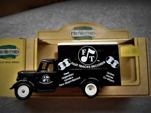 Lledo LP59 022 Bedford 30cwt Truck - Fast Track Records (Rare)