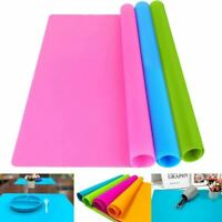 1 Pc Silicone Mat Non-Stick Heat Resistant Baking Liner Placemat Table Protector