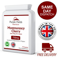 Montmorency Cherries 750mg 90 Capsules UK Manufactured