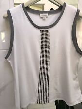 Witchery Tank Top With Sequins Large