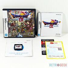 Jeu Dragon Quest IX 9 [JAP] sur Nintendo DS en BE/TBE