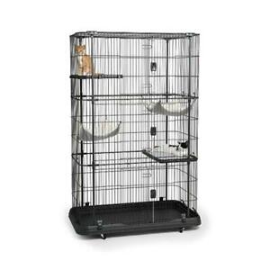 Prevue Hendryx 7500 Premium Cat Home with 4 Levels