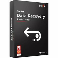 STELLAR DATA RECOVERY 8 PROFESSIONAL VERSION 1PC USERS LIFETIME LICENSE –WINDOWS