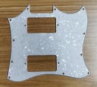 Guitar Parts For Epiphone G310 SG Guitar pickguard PAF Humbucker, White Pearl