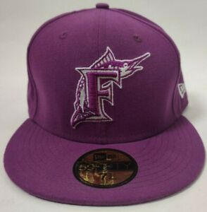 Miami/Florida Marlins New Era 59fifty Fitted Hats Snapback Choose Size Color