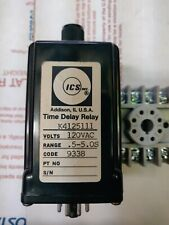 ICS K4125111 time delay relay with allen bradley 700-HN125 base