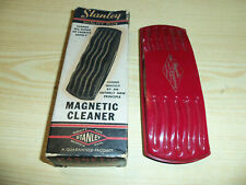 Stanley Magnetic Cleaner - Red - For Furniture Rugs & Upholstery