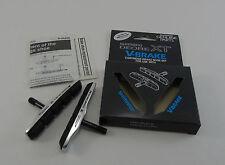 NOS Shimano XT V-Brake Pads & Holders, Set of Two, Ceramic Rim Compound, New