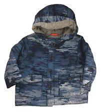 Gap Baby Boys Jacket Coat Wadded Camouflage Camo Blue 6-12 Months