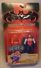 Vintage 90s Action Figur Kenner Batman & Robin Razor Skate 1997 OVP