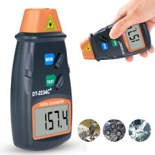 DT-2234C+ Non-Contact Digital LCD Laser Photo Tachometer Mini RPM Tester Meter 3