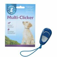 CLIX Multi Clicker Dog Puppy Training Volume Controlled Clicker With Free Guide