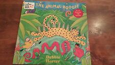 THE ANIMAL BOOGIE Debbie Harter NEW PB Book Barefoot Books w/SING-ALONG CD 2000
