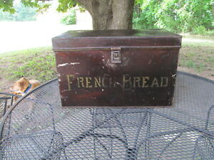 Antique Kreamer French bread box