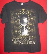 AVENGED SEVENFOLD AUTHENTIC 2010 NIGHTMARE CONCERT TOUR SHIRT MEDIUM OOP EX COND