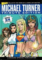 MICHAEL TURNER TRIBUTE ED 1:299 LTD WIZARD HC SET ALL 3 VERSIONS  30%+  OFF