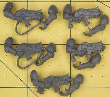 Warhammer 40K Space Marines Dark Angels Company Veterans Boltguns
