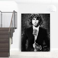 Jim Morrison Leinwand Bild The Doors Wandbild Modern Abstrakt Star Musik CANVAS