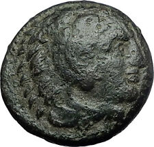 ALEXANDER III the GREAT 336BC Hercules Club Macedonia Ancient Greek Coin i59631