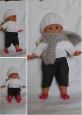 vêtements compatibles poupée corolle  36cm .