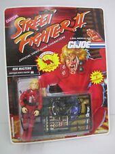 "G.I.Joe Street Fighter II - ""KEN MASTERS"" #2 Shotokan Karate Fighter 1993 Hasbro"