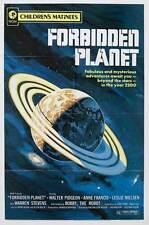 FORBIDDEN PLANET Movie POSTER 14x36 Insert Walter Pidgeon Anne Francis Leslie