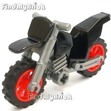 BM315 Lego Avengers S.H.I.E.L.D. Captain America Motorcycle Dirt Bike -Black NEW