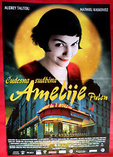 AMELIE POULAIN 2001 AUDREY TAUTOU MATHIEU KASSOVITZ UNIQUE SERBIAN MOVIE POSTE