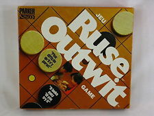 Outwit 1979 Board Game Parker Brothers 100% Complete Excellent %%%