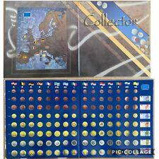 Euro Collection Folder Album Vista Raccoglitore Monete Euro Dei Primi 15 Paesi
