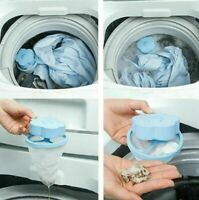 Reusable Flower Float Pet Fur Catcher Laundry Lint Hair Wool Remover Clean Tool