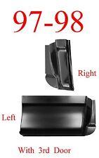 97 98 Ford 2Pc Extended Super Cab Corner Set 3 Door, F150, Left & Right Sides!