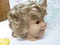 Monique doll wig BRITTANY  BLONDE 12-13  reborn