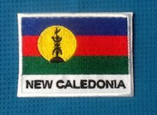 NEW CALEDONIA KANAKY FRENCH POLINESIA ISLAND FLAG SOW SEW IRON ON PATCH BADGE