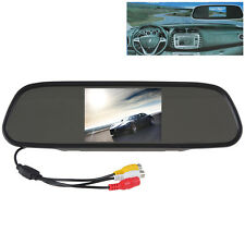 US- 5 Inch TFT-LCD Color Screen 2-CH Video Input Car Rear View Mirror Monitor